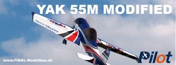 YAK 55M - modified