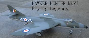 Flying Legends Hawker Hunter