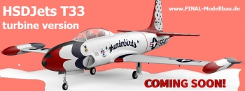 HSDJets T-33 Turbinen-Version