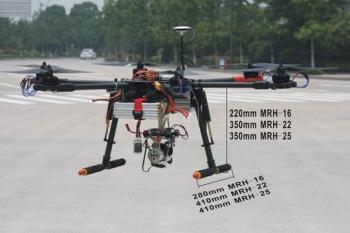 Multi-Copter elektrisches Einziehfahrwerk