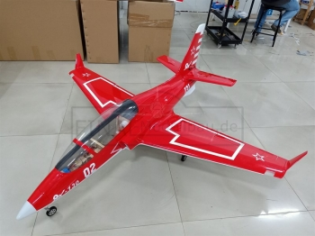 GLOBAL AeroJet Viper G2 1.95m YAK130 RED ARF PRO mit Licht und Scale Cockpit