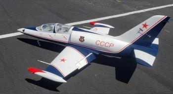 AeroFoam L-39 Albatros G2 'CCCP' - Turbine Ready