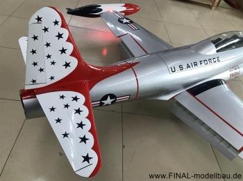 GLOBAL AeroJet T-33 ARF Scale 1/6 'THUNDERBIRDS'