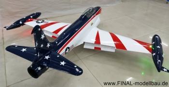 GLOBAL AeroJet T-33 ARF Scale 1/6 'MISS AMERICA'