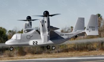 VTOL V-22 Osprey, Farbe: Dark Grey MARINES