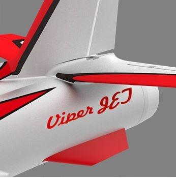 HSDJets 90mm Viper PRO II - ROT / SILBER