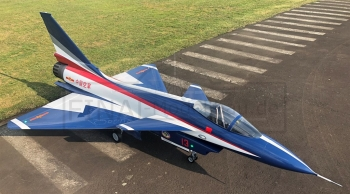Jetlegend J10 ARF, Farbe: Chinese AF Display Team + Upgrades
