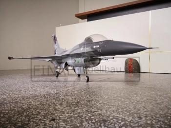 T-OneModels F16 Scale 1/8.5 TOP GUN