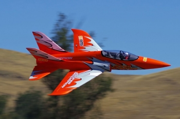 FMS Super Scorpion Jet EDF 90 PNP - 114 cm Orange