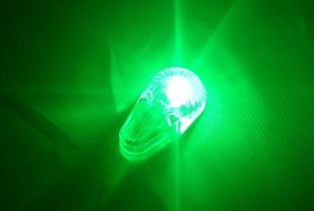 8W Profillicht 24mm, GRÜN