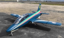 GLOBAL AeroFoam MB339 'Frecce Tricolori' - Turbine Ready