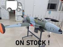 GLOBAL AeroJet T-33 Scale 1/6 'Luftwaffe Camo' ARF PRO inkl. Licht und Scale Cockpit