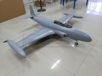 GLOBAL AeroJet T-33 ARF Scale 1/6 'Basis-grau'