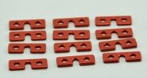 Intairco CNC Servo Washers (12) - Suits Std Size JR, Futaba & Hitec Servos