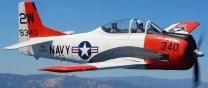 FlyFlyHobby T-28 Trojan ARF 2.20m 'NAVY RED/WHITE'