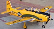 FlyFlyHobby T-28 Trojan ARF 2.20m 'NAVY YELLOW'