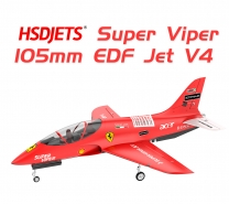 SUPER VIPER EDF 105mm RED FERRARI