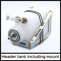 Hoppertank 125ml (inkl. Filter-Sack) inkl. Befestigungsstand