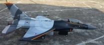 Jetlegend F-16C 1/6 ARF, Farbe: NL AF Display 2005 + Upgrades