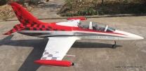 Jetlegend L39 1/5 PNP-Version HPAT Rot/Silber/Weiß