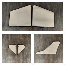 Maho Set Flächenschutztaschen für Jetlegend F16 1/6