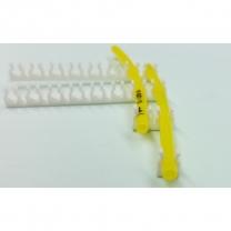 Schlauchhalter 3 mm mehrfach