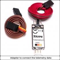 Telemetry adapter Futaba, Jeti, MPX, Hott, JR, Core-PB, FrSky