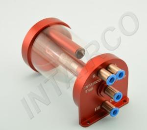 iTrap Telemetrie 250ml - 4mm FESTO Quickverbinder (2x Haupttank)