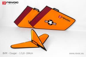REVOC Flächenschutztaschen Set JL Cougar, Farbschema: Point Mugu