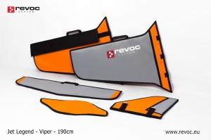 REVOC Flächenschutztaschen Set JL Viper, Farbschema: Porsche GULF