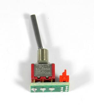 DUPLEX 2,4EX 2-wege Momenttaster (lang) mit Mittelstellung für Sender DC