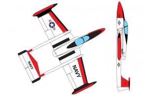 Boomerang Torus (Navy)