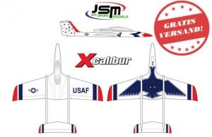JSM Xcalibur (THUNDERBIRDS Farbgebung)