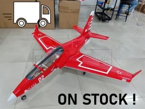 GLOBAL AeroJet Viper G2 1.95m YAK130 RED PNP mit Licht und Scale Cockpit