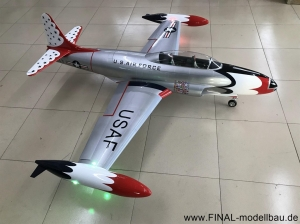 GLOBAL AeroJet T-33 ARF Scale 1/6 'THUNDERBIRDS'