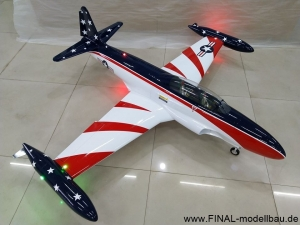 GLOBAL AeroJet T-33 ARF Scale 1/6 'MISS AMERICA'