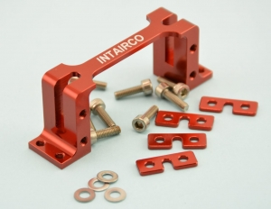 Intairco CNC Servo mount inc Servo Washers and Mounting Hware - Suits Std Size JR, Hitec & Futaba Servos