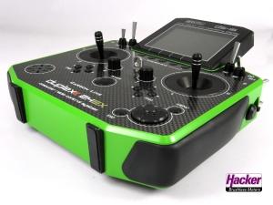 DUPLEX 2,4EX Handsender DS-16 Carbon Green Multimode