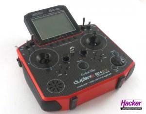 DUPLEX 2,4EX Handsender DS-16 Carbon Red Multimode
