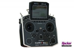 DUPLEX 2,4EX Handsender DS-16 Carbon White Multimode