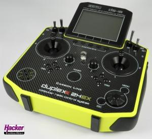 DUPLEX 2,4EX Handsender DS-16 Carbon Yellow Multimode