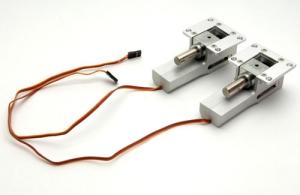 Elektr. Hauptfahrwerk-Mechaniken (large) Metall