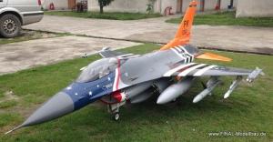 Jetlegend F-16C 1/5 ARF, Farbe: USAF  Anniversary FW209 + Upgrades
