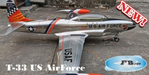 Feibao T-33 US Airforce INDIAN ARF - New Metallic Look