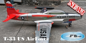 Feibao T-33 US Airforce AFCS ARF Pro - New Metallic Look
