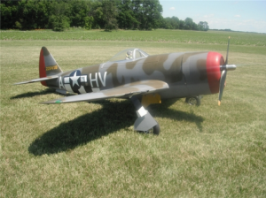 P-47D ARF 1/5 Bubble Top