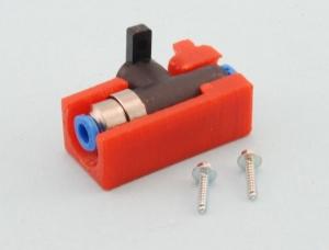 Halterung  für Festo Kugelhahn 4mm oder 6mm