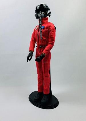 Jetpilotenpuppe rot 1/6 Helm-Version 6