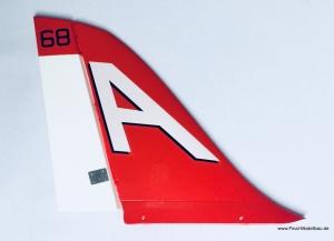 HSD SUPER VIPER Flügel Seitenruder NAVY