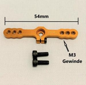 Hochlast Servoarm (beidseitig) für JR (23 Zähne)